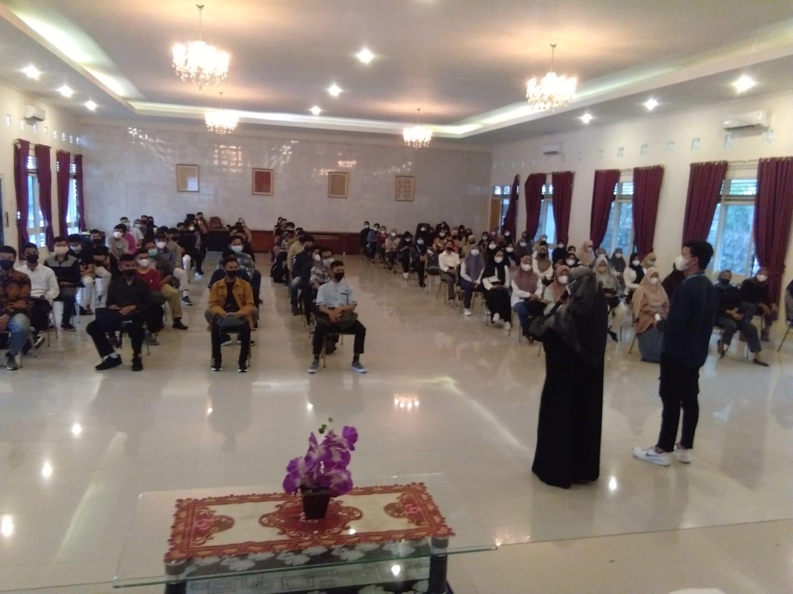 ORMAWA Stisipol Pahlawan 12 Mengadakan Technical Meeting PKKMB 2021
