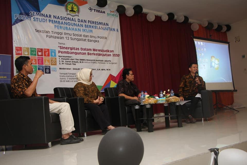 Seminar Nasional Pembangunan Berkelanjutan Oleh Stisipol Pahlawan 12
